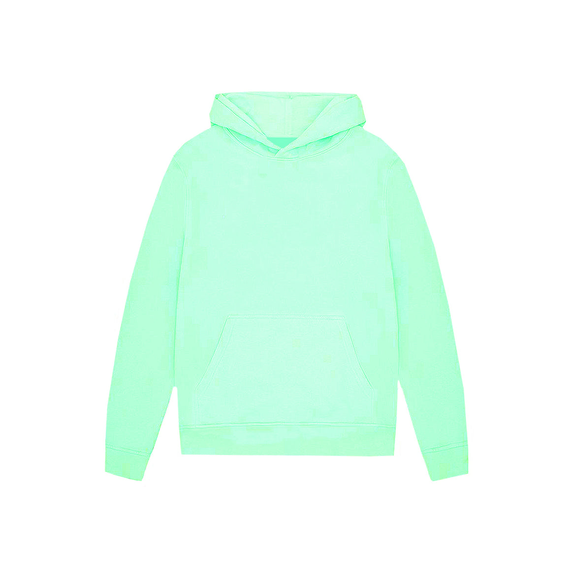 UNBRANDED ESSENTIAL PULLOVER HOODY | PEPPERMINT BLUE