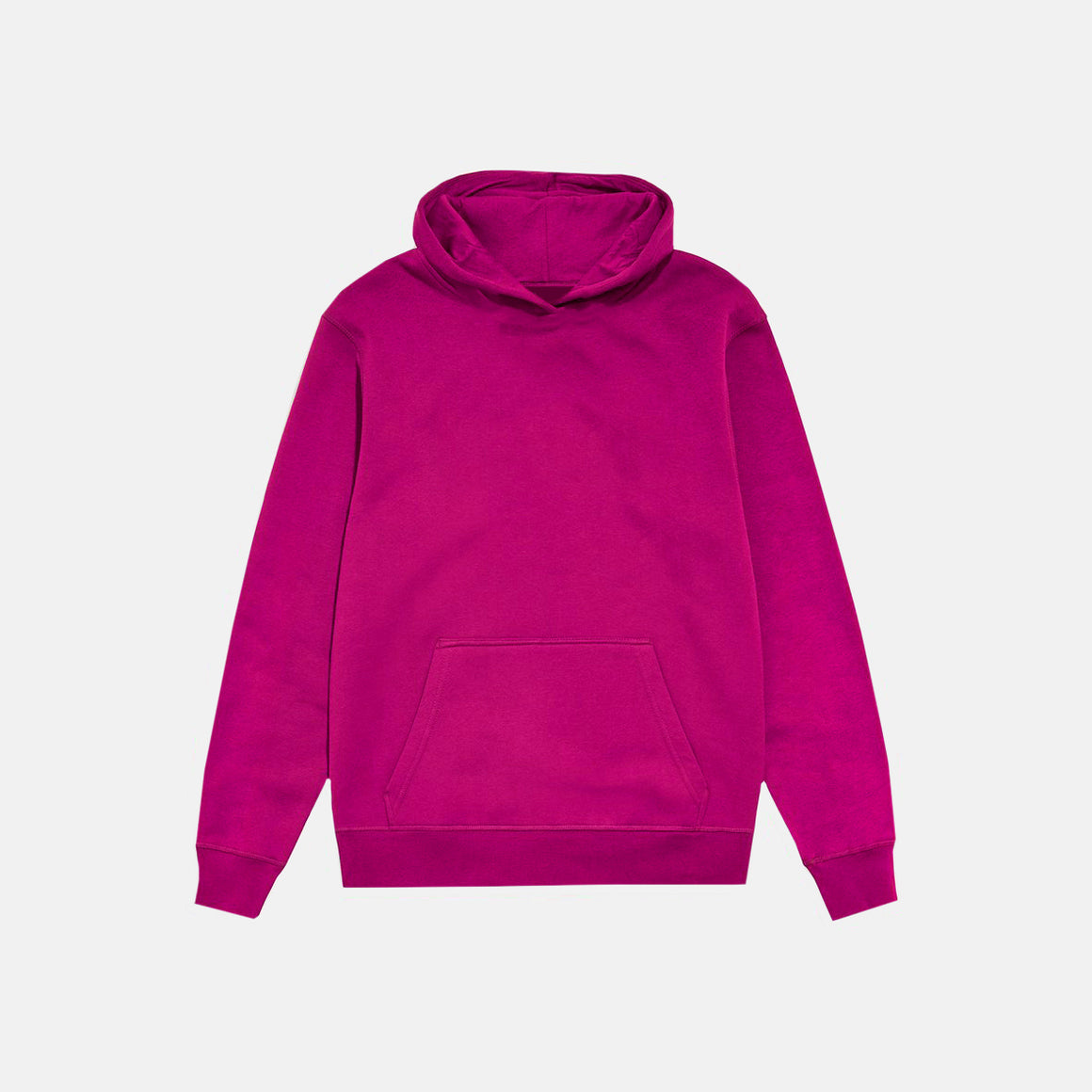 UNBRANDED ESSENTIAL PULLOVER HOODY | HOT FUCHSIA PINK