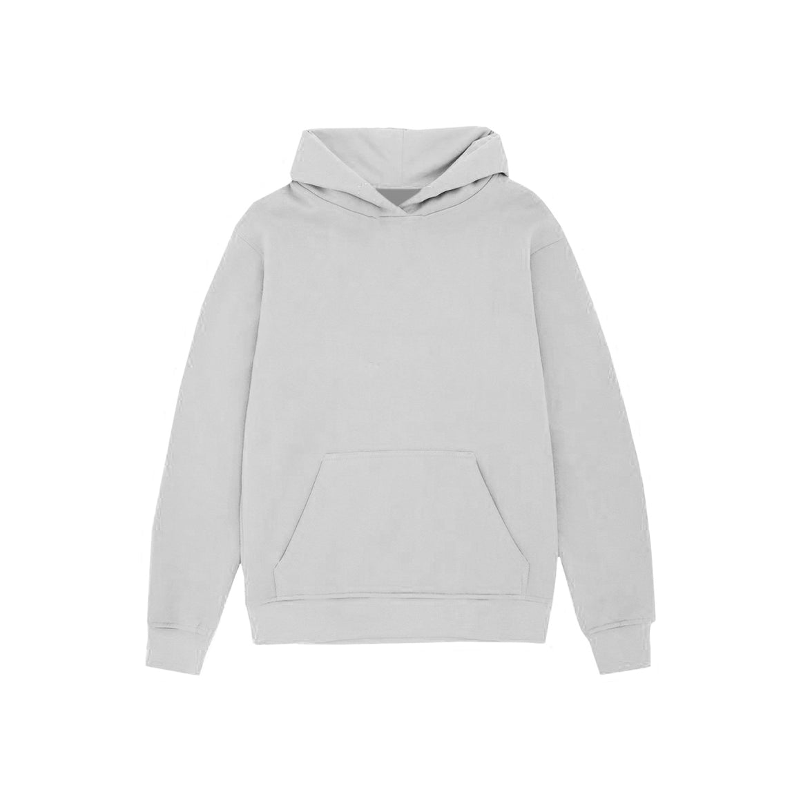 UNBRANDED ESSENTIAL PULLOVER HOODY | SILVER