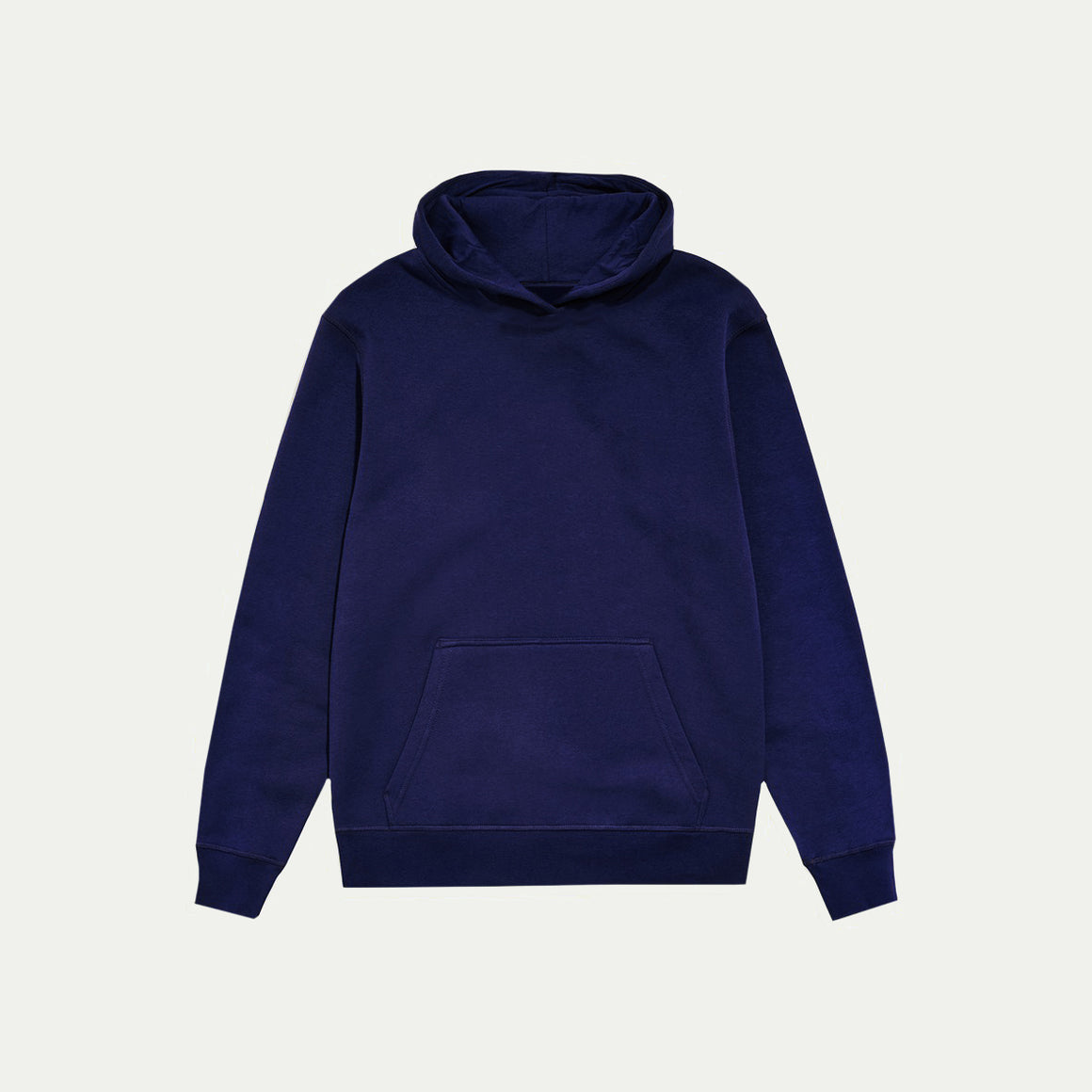 UNBRANDED ESSENTIAL PULLOVER HOODY | DENIM NAVY BLUE