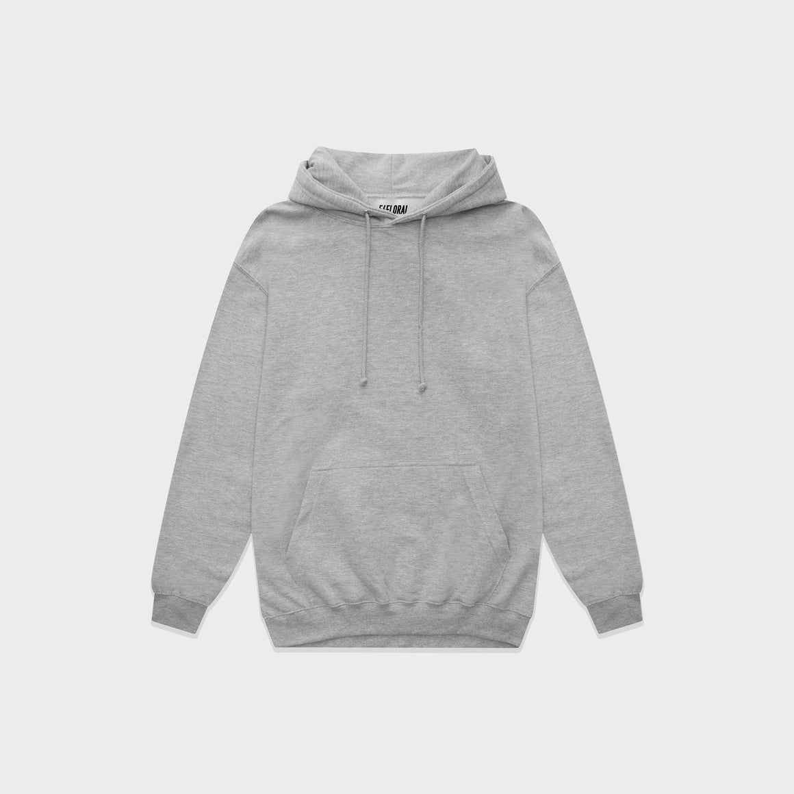 UNBRANDED ESSENTIAL PULLOVER HOODY | HEATHER GREY