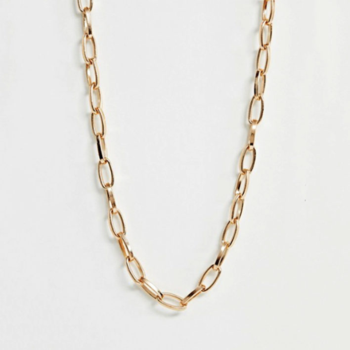 KEENA OVAL NECKLACE CHAIN