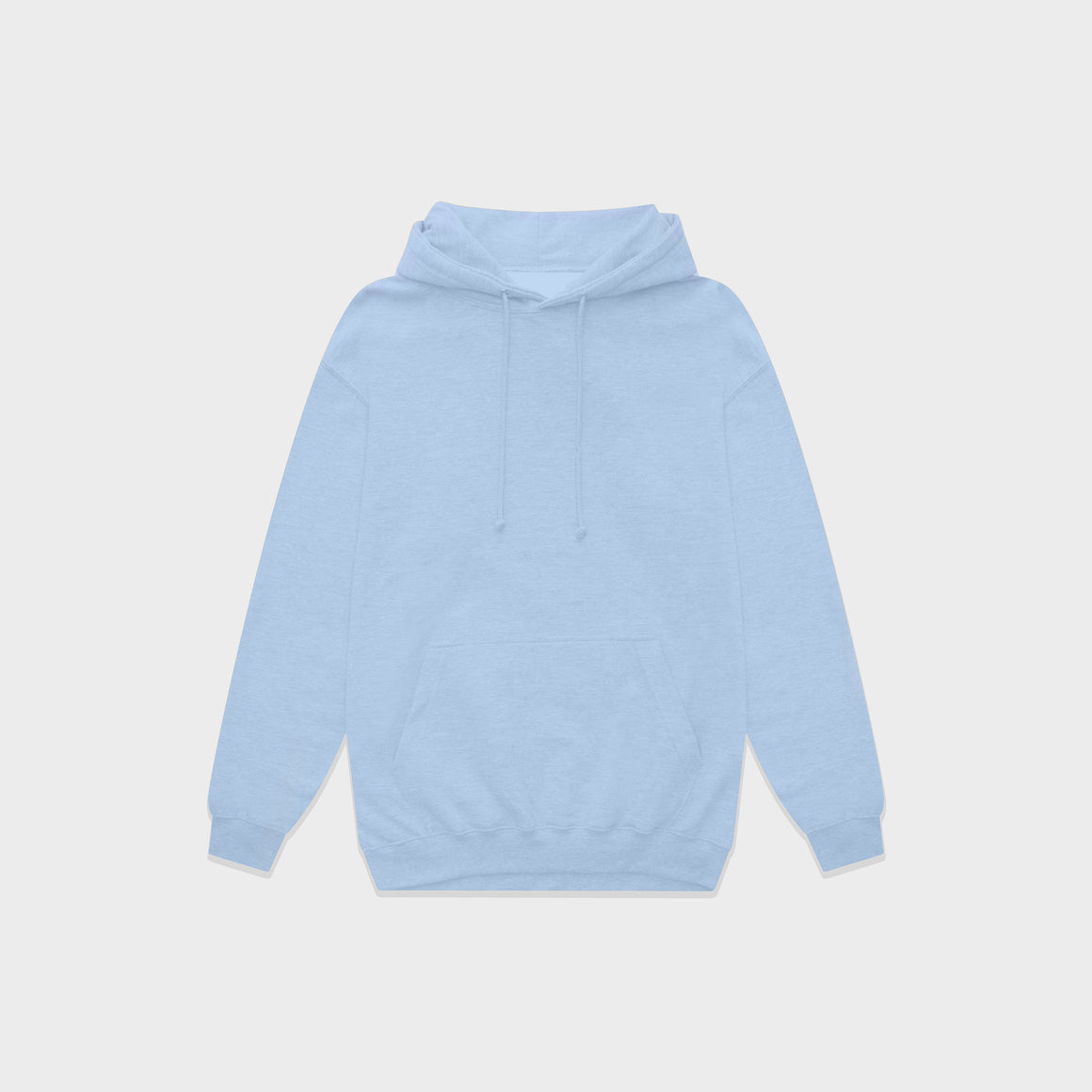 UNBRANDED ESSENTIAL PULLOVER HOODY | SKY BLUE