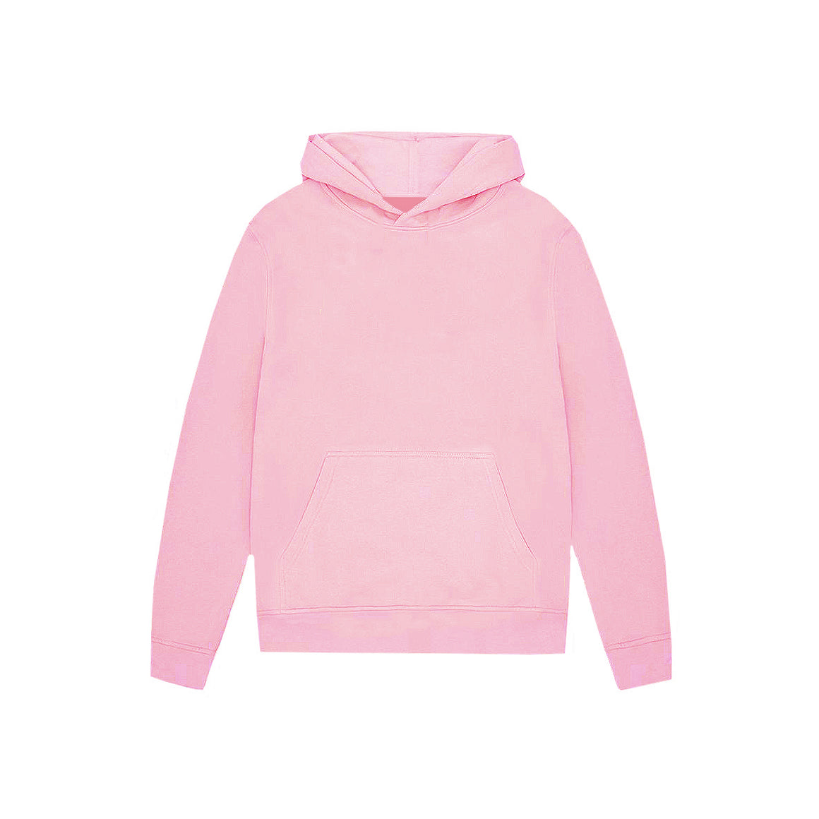 UNBRANDED ESSENTIAL PULLOVER HOODY | BABY PINK