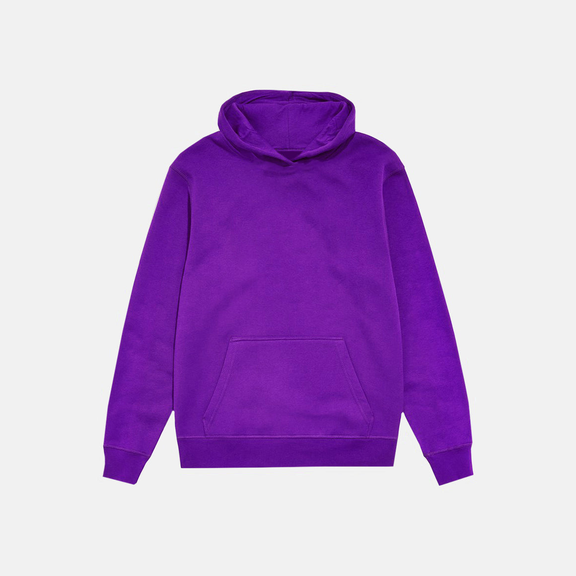 UNBRANDED ESSENTIAL PULLOVER HOODY | BRIGHT PURPLE
