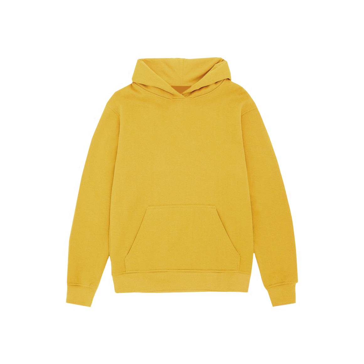 UNBRANDED ESSENTIAL PULLOVER HOODY | GOLD MUSTARD