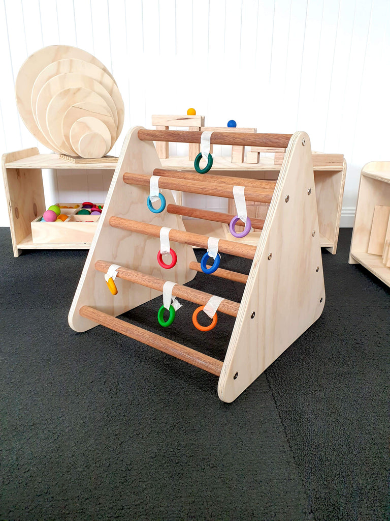 The Wooden Toy Co - Pikler Triangle - Small