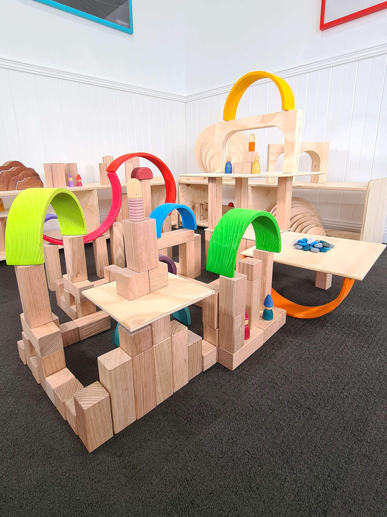 Building Blocks, Platforms and Arches