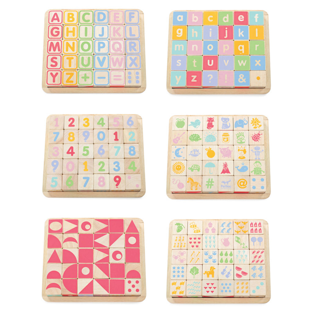 Petilou ABC Wooden Blocks
