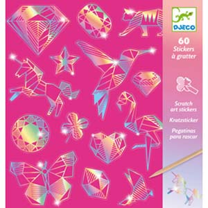 Scratch Cards & Stickers - Diamonds