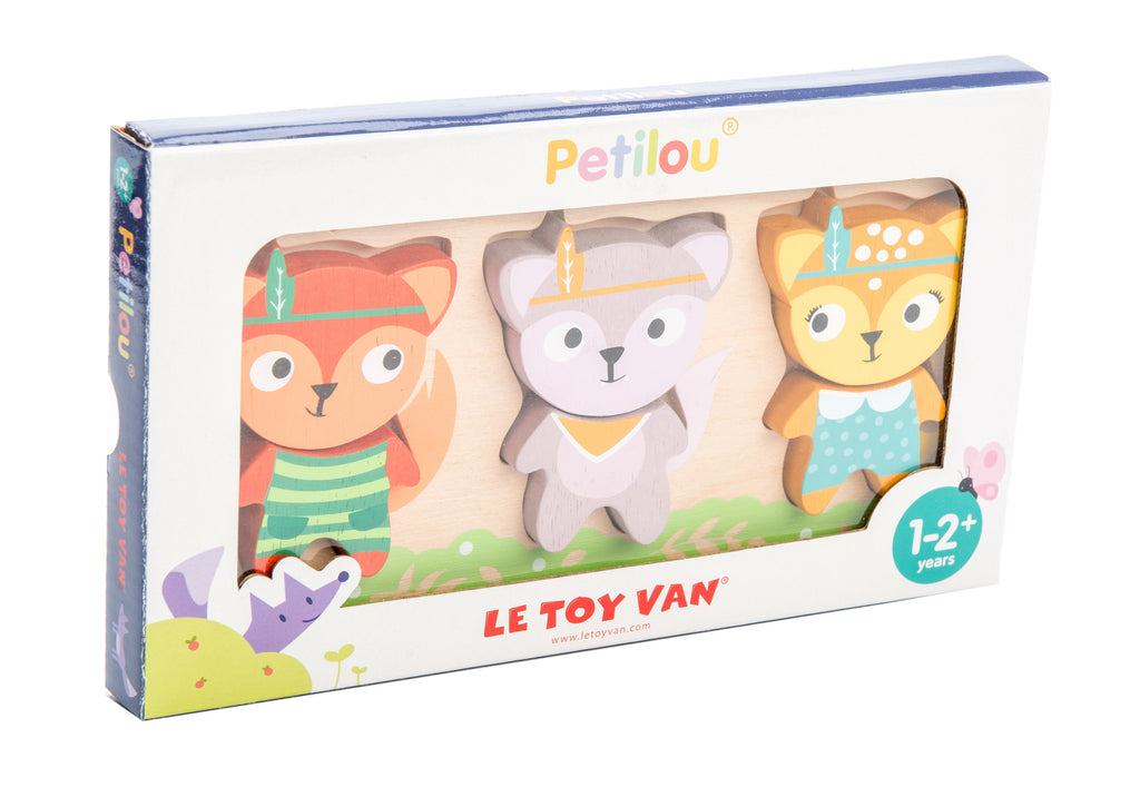 Petilou Little Fox Puzzle