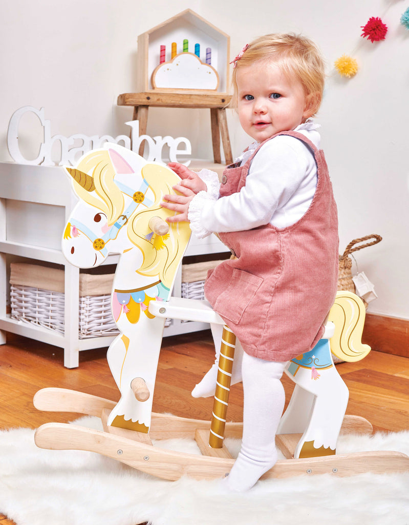 Petilou Rocking Unicorn Carousel