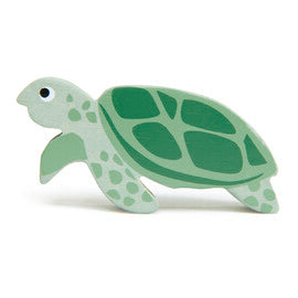 Tender Leaf - Wooden Sea Turtle