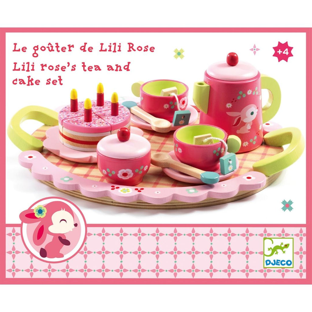 Lili Rose Tea Party Set