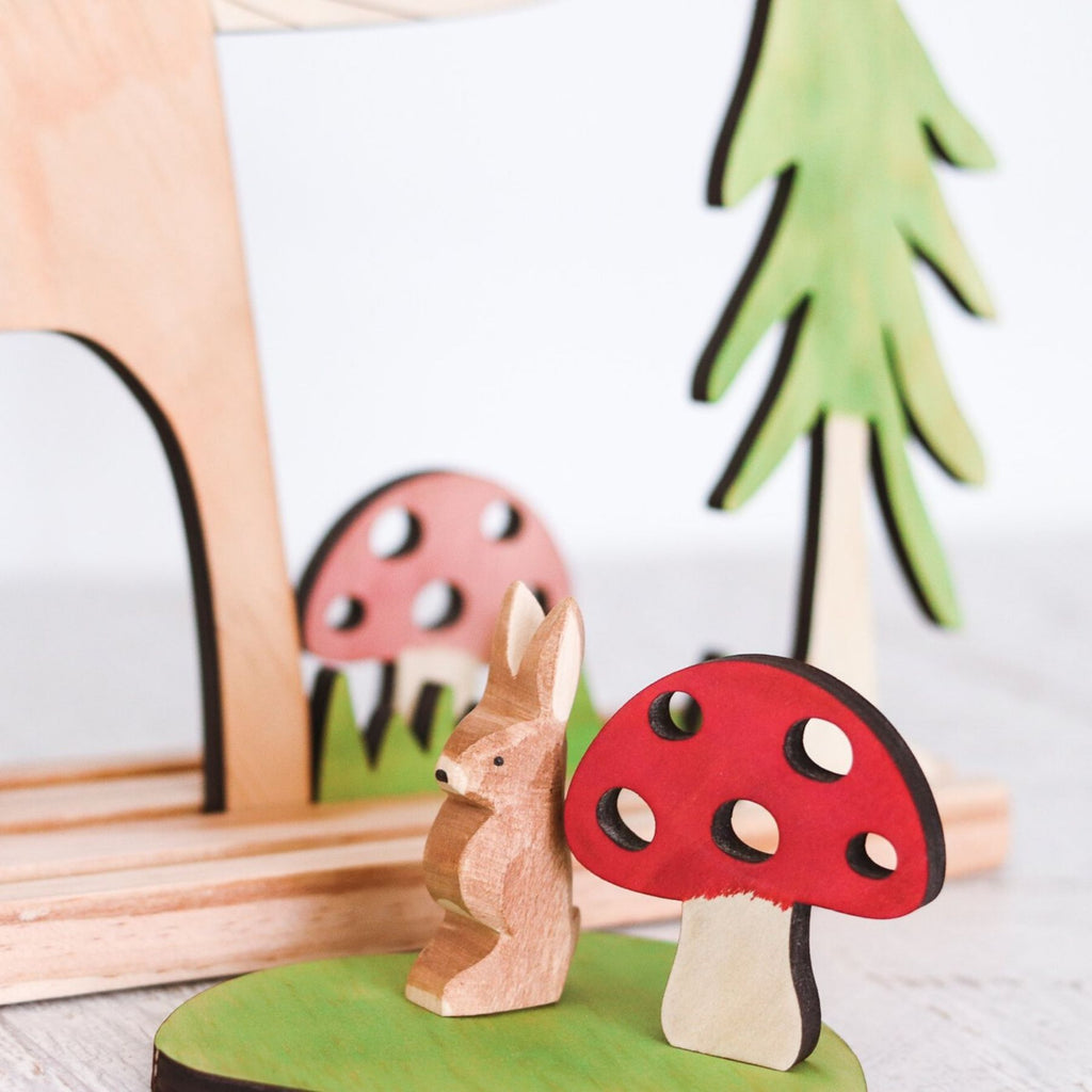 Let Them Play - Mini Mushroom, Rose Pink