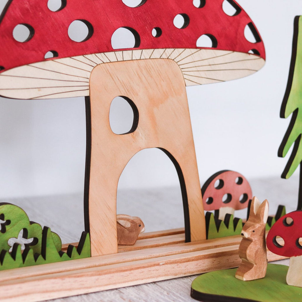 Let Them Play - Large Mushroom House - PRE SALE
