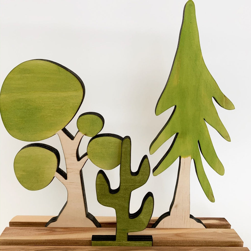 Let Them Play - Trees, Set of 3 - PRE SALE