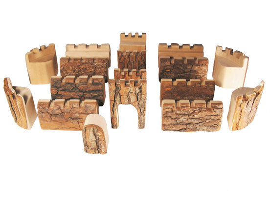 Magic Wood Castle Blocks