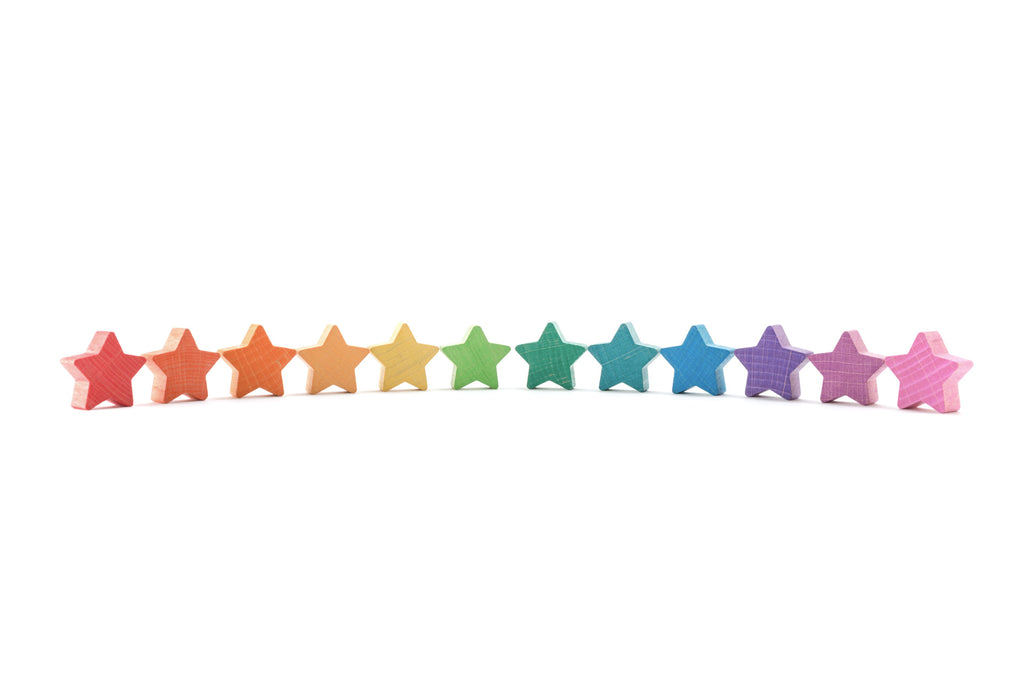 Ocamora 12 Stacking Stars - Coloured