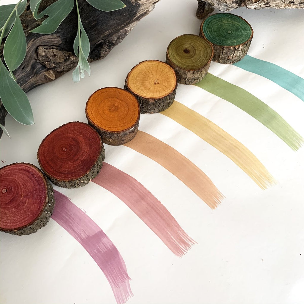 Let Them Play - Eco Colour Kit - Earth Rainbow, Set of 6 - PRE SALE