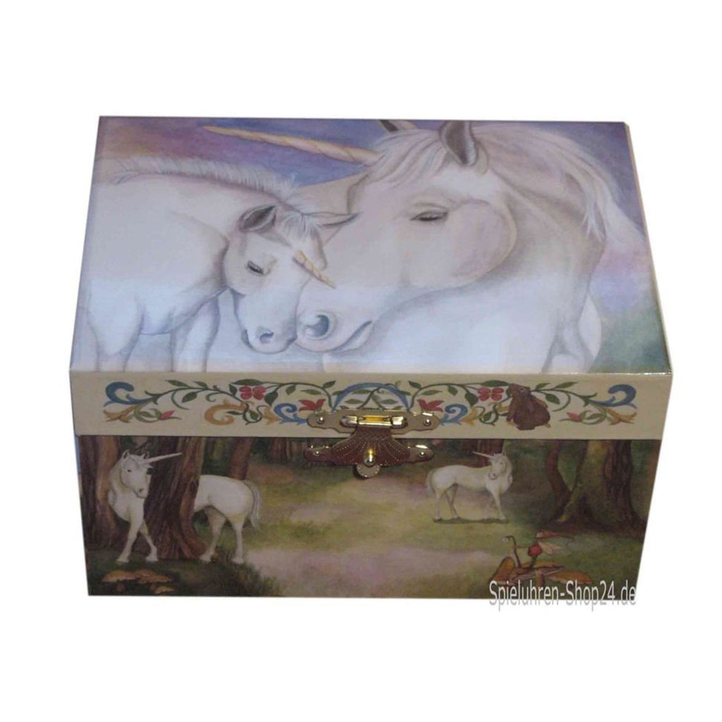 Gentle Unicorn Music Box