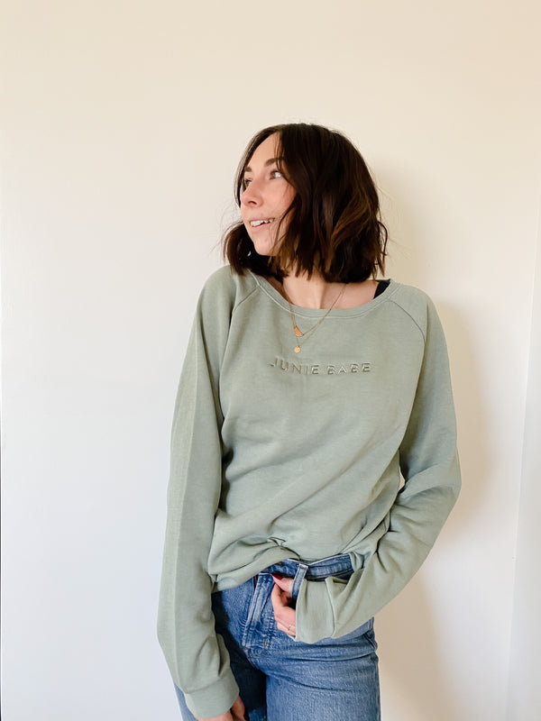 The Cozy Sweatshirt in Sage