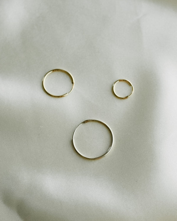 The Essential Hoop in 14K Gold Fill