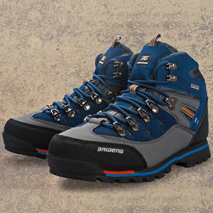 Men Water Resistant Trekking Shoes for Outdoor Hiking