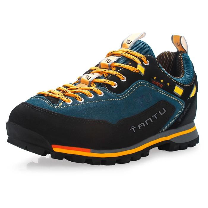 TANTU Genuine Leather Hiking Shoes Water-resistant Outdoor Trainers