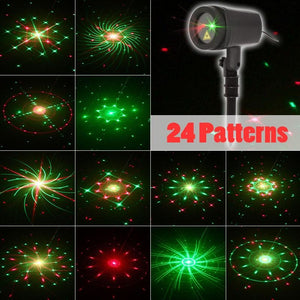 2019 Laser Projector Outdoor Christmass Lights New Year's Holiday Decorations For Home Garden Shower Window Light