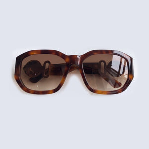 New Retro Multilateral Goggle Sunglasses