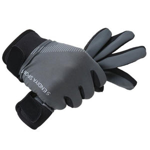 Newly 1 Pair Bike Bicycle Gloves Full Finger Touchscreen Men Women  MTB Gloves Breathable Summer Mittens