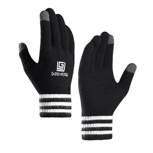 Unisex Winter Cycling Gloves Full Finger Touchscreen Thermal Knit Riding Handwear Professional Outdoor Gloves Cycling Equipment