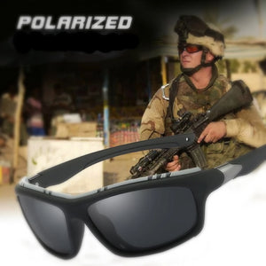 Top Mens Polarized Army Goggles Sports Driving Sunglasses UV400 Fishing Men Tactical Sun glasses Steampunk For Male Gafas de sol