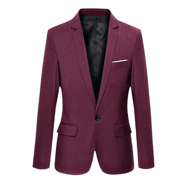 New Fashion Spring Autumn Men Blazer Long Sleeve Solid Color Slim Man Casual Thin Suit Jacket Office Blazers Plus Size S-6XL