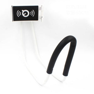Flexible Mobile Phone Holder Support Lazy Hanging Neck Phones Stand Bracket for iPhone Xiaomi Huawei ND998