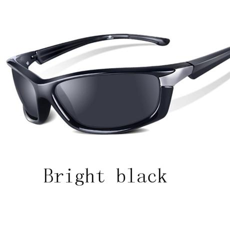 Ywjanp 2018 New Black Sports Sunglasses Men Polarized Driving Sun glasses Outdoor travel glasses for men and women Oculos