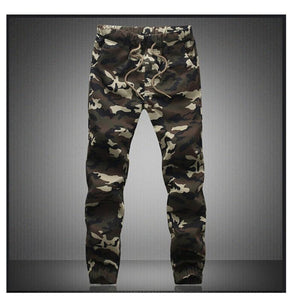 M-5X 2019 Mens Jogger Autumn Pencil Harem Pants Men Camouflage Military Pants Loose Comfortable Cargo Trousers Camo Joggers