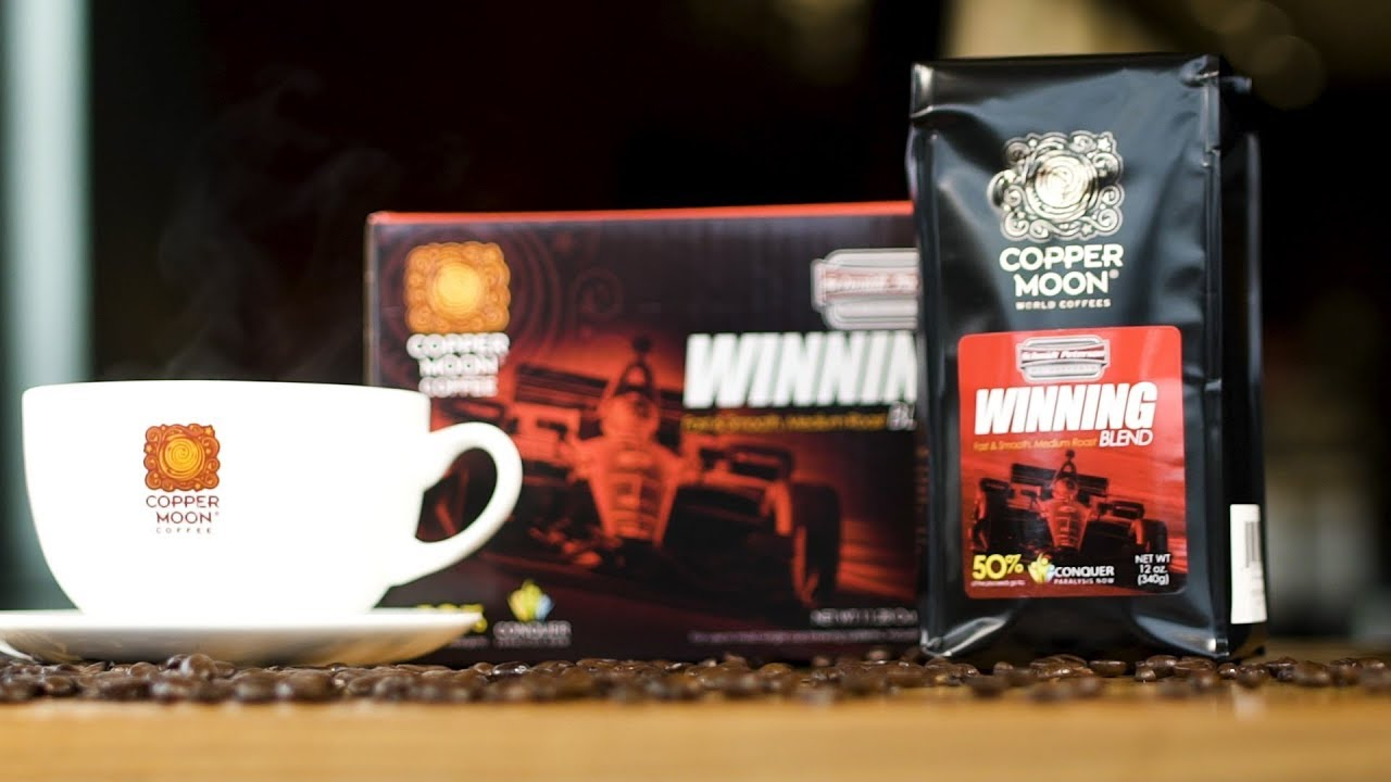 Copper Moon Coffee Launches WINNING BLEND with Schmidt Peterson Motorsports