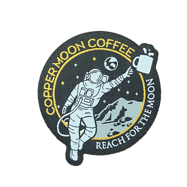 Rocketman Reach for the Moon Patch
