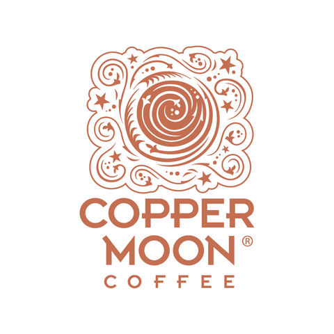 Copper Moon Coffee Sticker