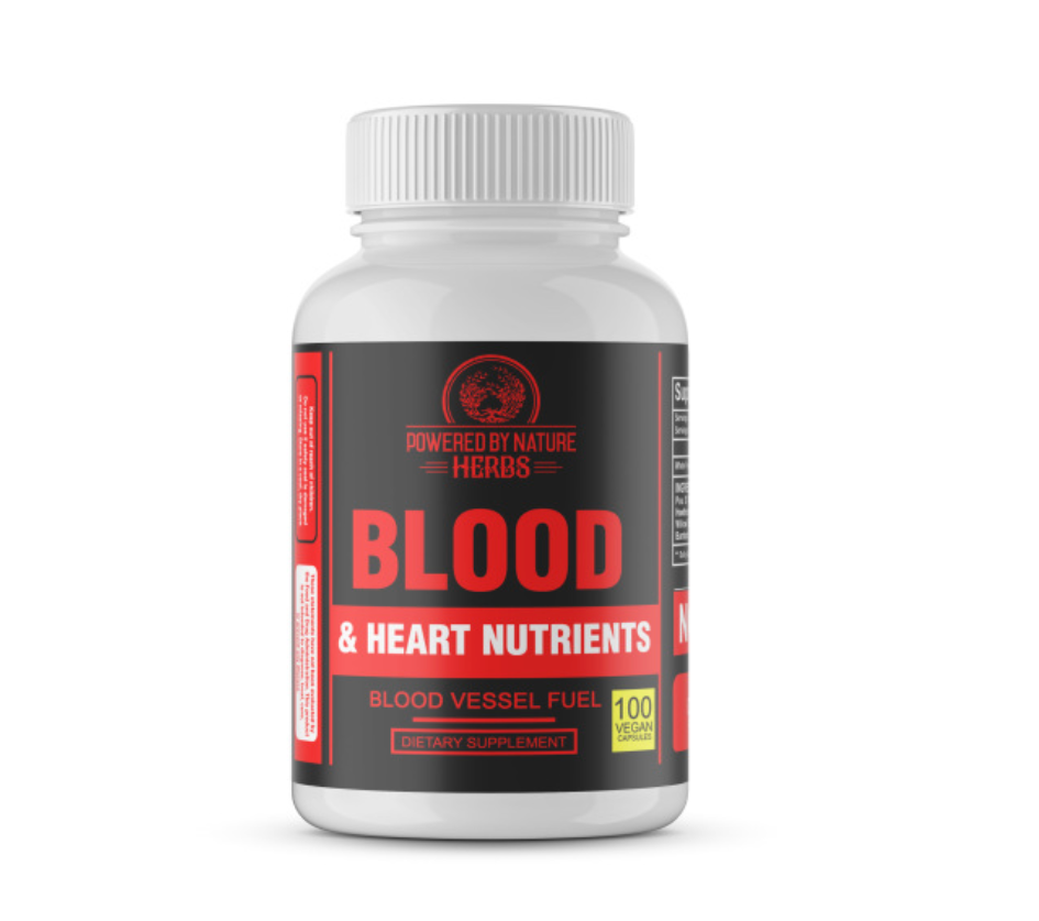Our Blood & Heart Nutrients™ formula is comprised of nutrient dense plant compounds that have a history of helping to strengthen, nourish and revitalize the blood vessels and heart.