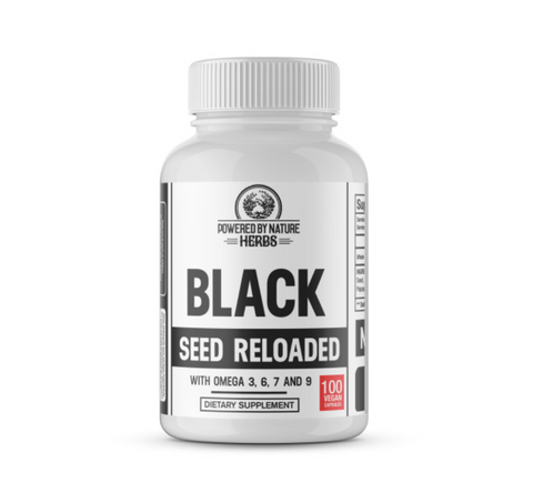 Our Black Seed Reloaded is named as such in large part due to our meticulous focus in comprising a plant vitamin that is not only rich in Black Seed