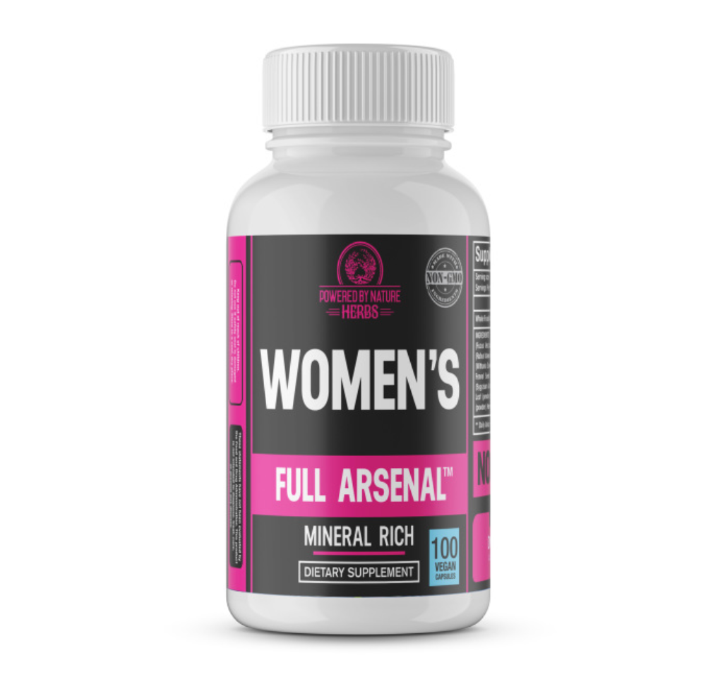 Our women's multivitamin is unlike any other on the market today. It not only nourishes the body in it's entirety but it contains nutrients that serve as high level food for the female sexual reproductive organs such as the breasts, cervix, ovaries and vagina. Our formula also contains plants that serve as nutrition for the thyroid gland.