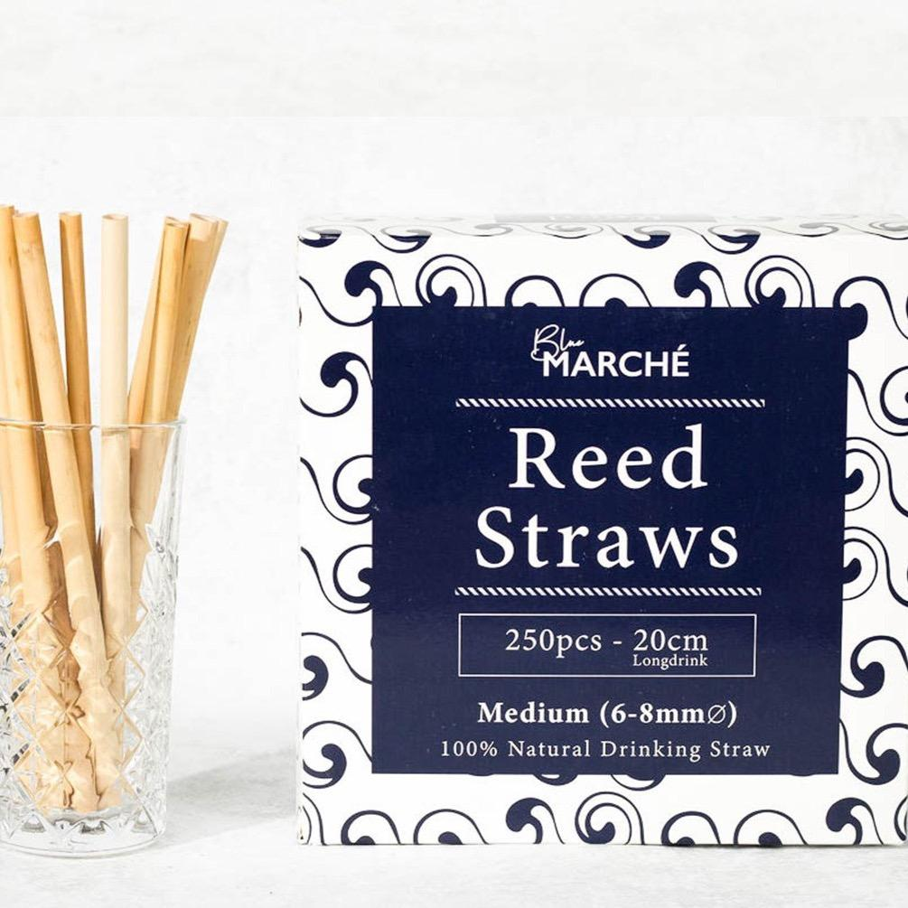 Reed Straws med 6-8mm longdrink