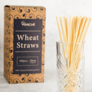 Wheat Straw / 20cm (long drinks/500pcs.)