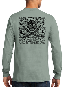 "New ""Tattoo Life""  Long Sleeve Mens  Tee"