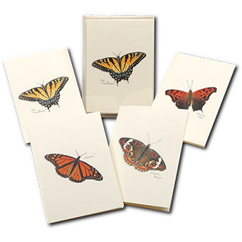 Nature Butterfly Note Cards