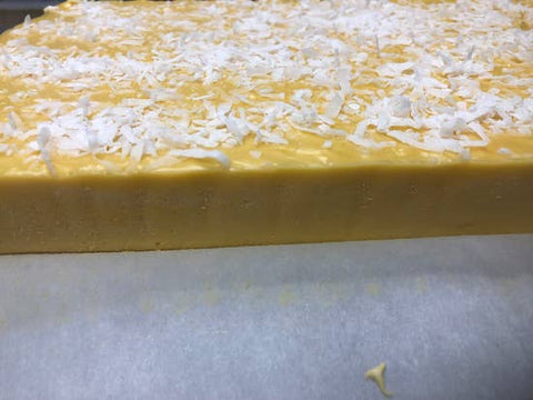 Mango Coconut Fudge