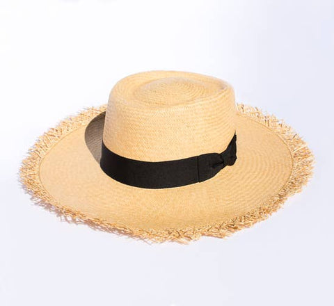Playa (Loose Straw) Panama Straw Hat